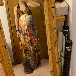 ASOS halter maxi dress